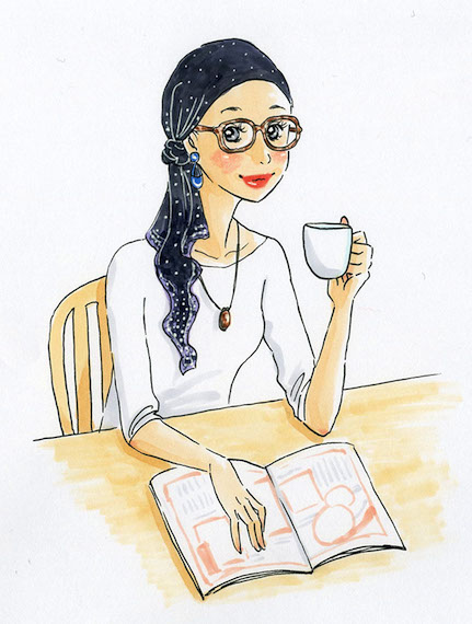 グレースカーフ紅茶(小)