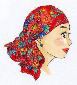 世界一やさしいヘッドスカーフ