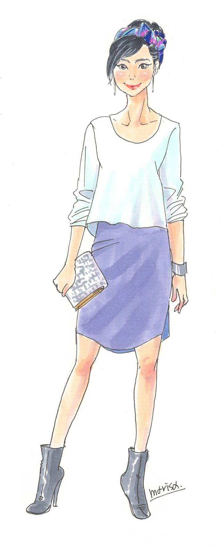 この服着たい!をイラストで叶える vol.7