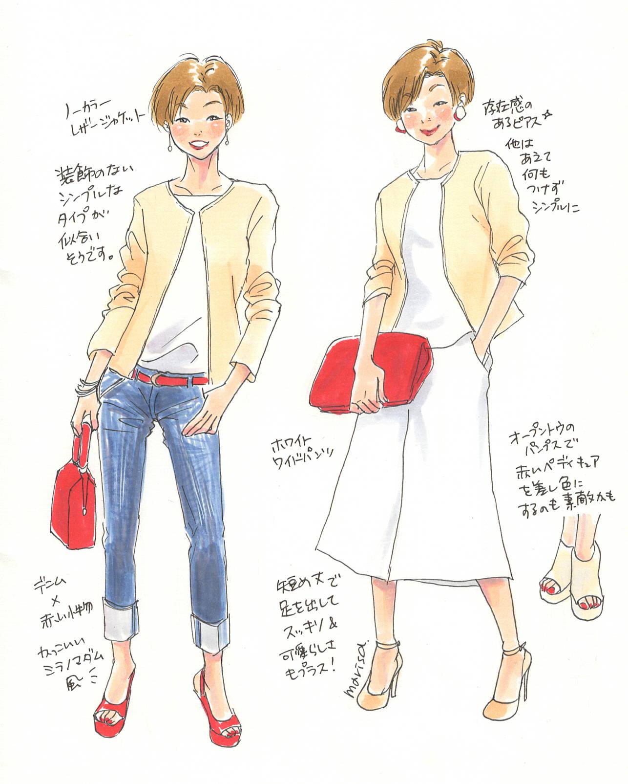 この服着たい!をイラストで叶える vol.8