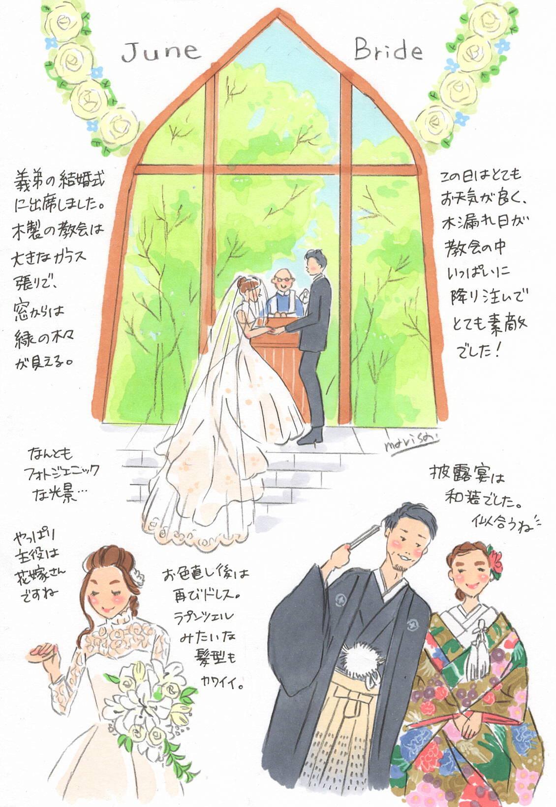 義弟の結婚式に参列して、ふだん周りにいてくれる人たちの大切さを再確認した話。