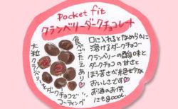 オーガニックチョコレートのイラスト