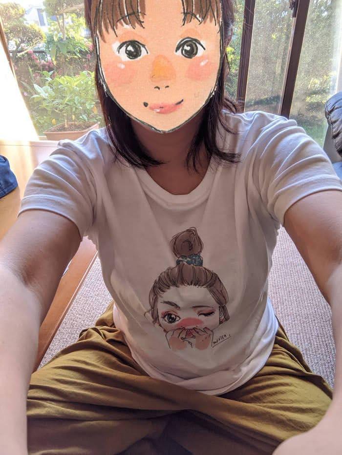 おしゃれなイラストTシャツ
