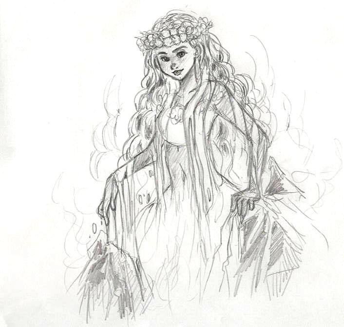 ハワイ火山の女神ペレ